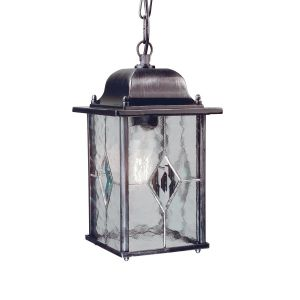 WEXFORD black silver WX9 Elstead Lighting
