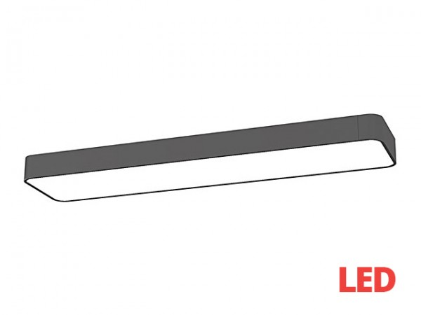 SOFT LED graphite 60x20 plafon 9532 Nowodvorski Lighting
