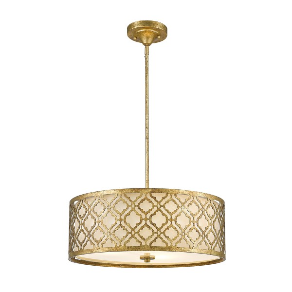 ARABELLA distressed gold GN/ARABELLA/P/L Elstead Lighting
