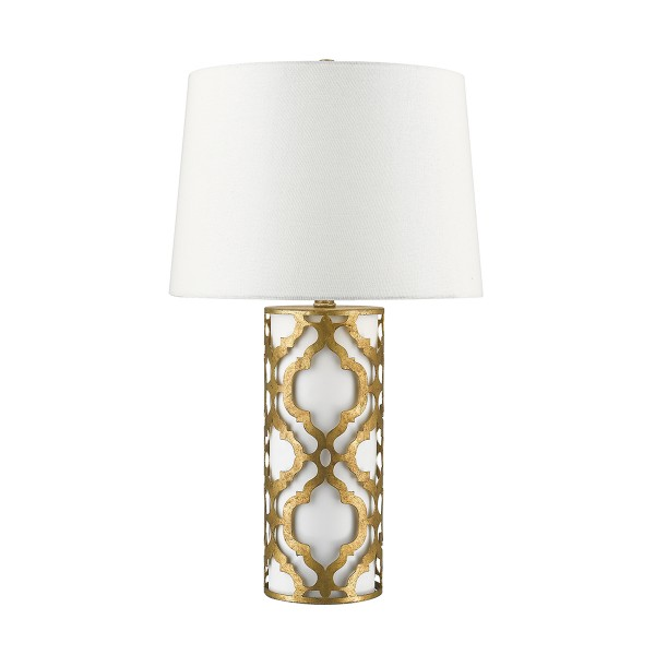 ARABELLA distressed gold GN/ARABELLA/TL/G Elstead Lighting